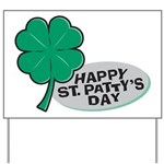 Happy St. Patty's Day Yard Sign