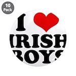 I Love Irish Boys Red Heart 3.5