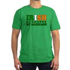 Irish by Marriage Tricolor T