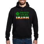 Proud to Be Irish Tricolor Hoodie (dark)