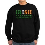 Irish and Proud of It 3D Sweatshirt (dark)