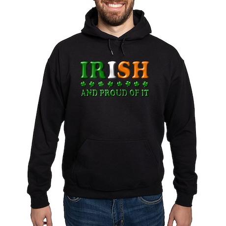 Irish and Proud of It 3D Hoodie (dark)