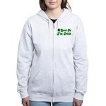 Spank Me I'm Irish Women's Zip Hoodie