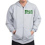 Spank Me I'm Irish Zip Hoodie