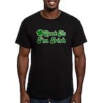 Spank Me I'm Irish Men's Fitted T-Shirt (dark)