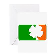 Irish Shamrock Logo Greeting Card