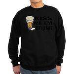 Kiss Me, I'm Drunk (Beer) Sweatshirt (dark)