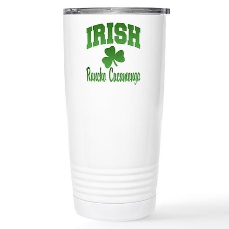 Rancho Cucamonga Irish Stainless Steel Travel Mug