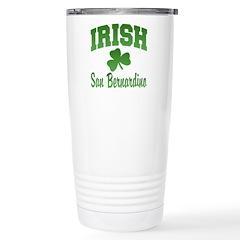 San Benardino Irish Ceramic Travel Mug