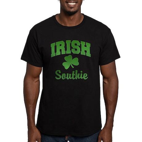 Southie Irish Men's Fitted T-Shirt (dark)