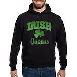 Queens Irish Hoodie (dark)