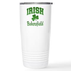 Bakersfield Irish Ceramic Travel Mug