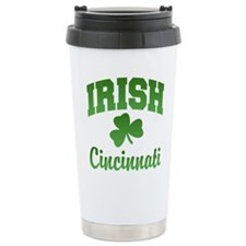 Cincinnati Irish Travel Mug