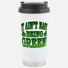 It Ain't Easy being Green Stainless Steel Travel M