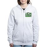 It Ain't Easy being Green Women's Zip Hoodie