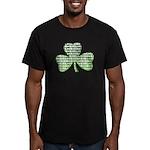 Shamrock Irish Girl Shamrock Men's Fitted T-Shirt