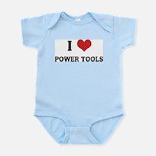 I Love Power Tools Infant Creeper