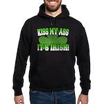 Kiss My Ass It's Irish Hoodie (dark)