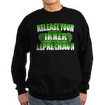 Release You Inner Leprechaun Sweatshirt (dark)