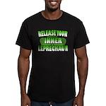 Release You Inner Leprechaun Men's Fitted T-Shirt