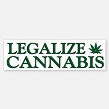 Legalize Cannabis Bumper Bumper Sticker
