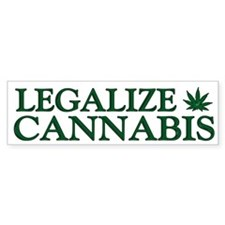Legalize Cannabis Car Sticker