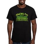 Kiss Me I'm Drunk Shamrock Men's Fitted T-Shirt (d