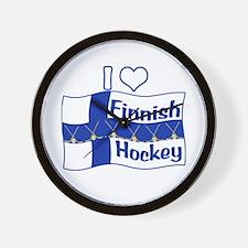 Finnish Hockey Wall Clock