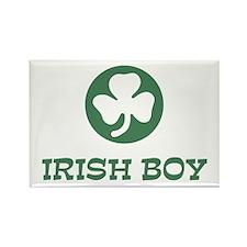 Irish Boy Rectangle Magnet