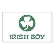 Irish Boy Rectangle Decal
