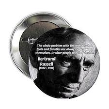 Philosopher Bertrand Russell Button