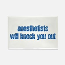 Anesthetists... Rectangle Magnet