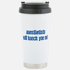 Anesthetists... Stainless Steel Travel Mug