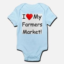 Heart Farmers Market Infant Creeper