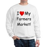 Heart Farmers Market Sweatshirt