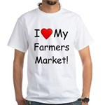 Heart Farmers Market White T-Shirt