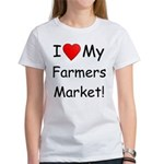 Heart Farmers Market Women's T-Shirt