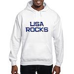 lisa rocks Hooded Sweatshirt
