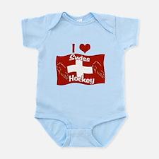 Swiss Hockey Infant Bodysuit