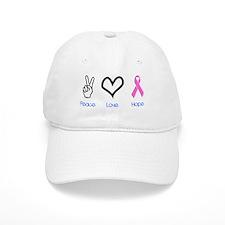Peace Love Hope Baseball Cap