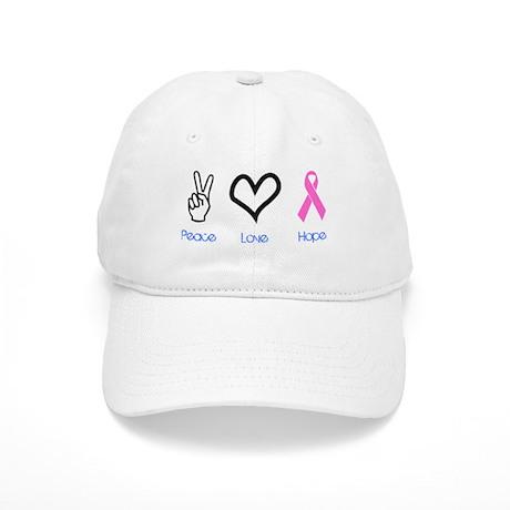 Peace Love Hope Cap