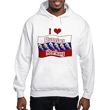 Russian Hockey Hoodie
