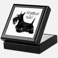 Scotties Rule! Keepsake Box