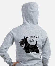 Scotties Rule! Zip Hoodie