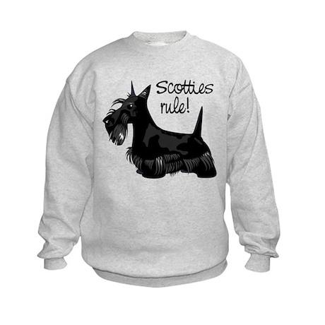 Scotties Rule! Kids Sweatshirt