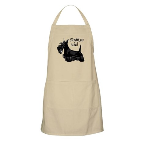 Scotties Rule! BBQ Apron