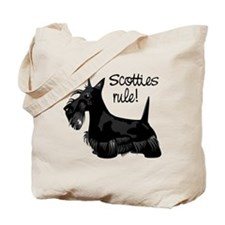 Scotties Rule! Tote Bag