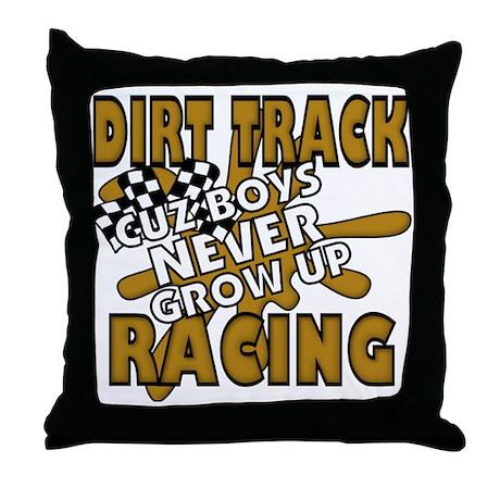 Cuz Boys Never Grow Up Throw Pillow