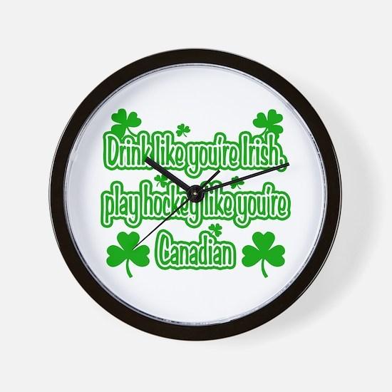 Drink Like You're Irish... Wall Clock