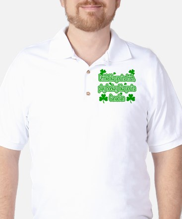 Drink Like You're Irish... Golf Shirt